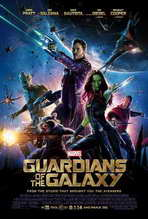 Guardians of the Galaxy - 27x40 Movie Poster - Style A