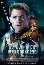 Star Trek Into Darkness - 27x40 Movie Poster - International Style A