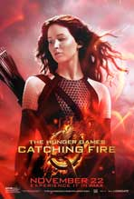 The Hunger Games: Catching Fire - 27x40 Movie Poster - Style A